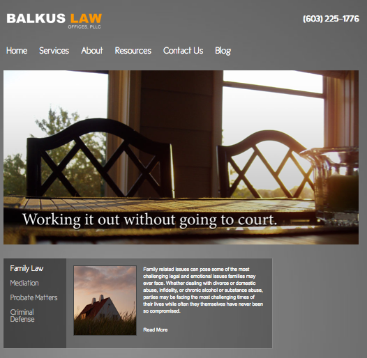 balkus-law-offices-website