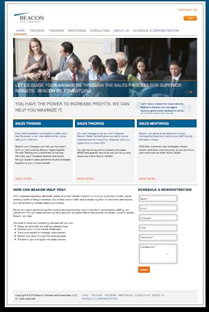 beacon and company website