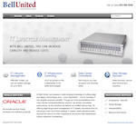 bell united website design