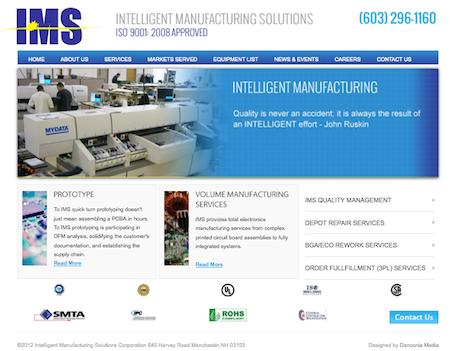 ims website design